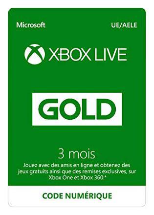 achat code xbox live