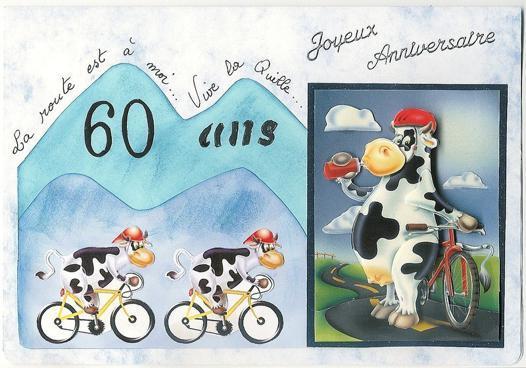 anniversaire 60 ans vaches