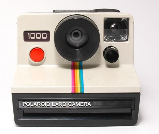 appareil photo polaroid vintage