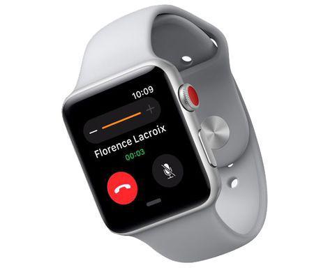 apple watch 3 les numériques