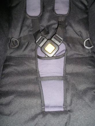 attache poussette safety