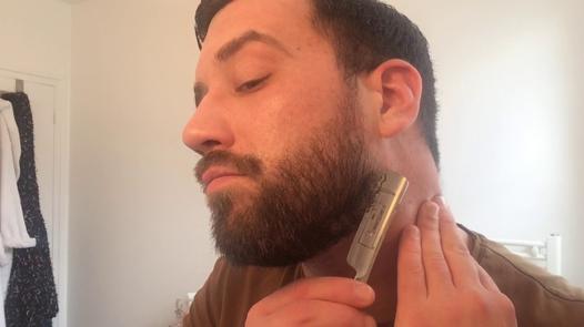 barbe contour