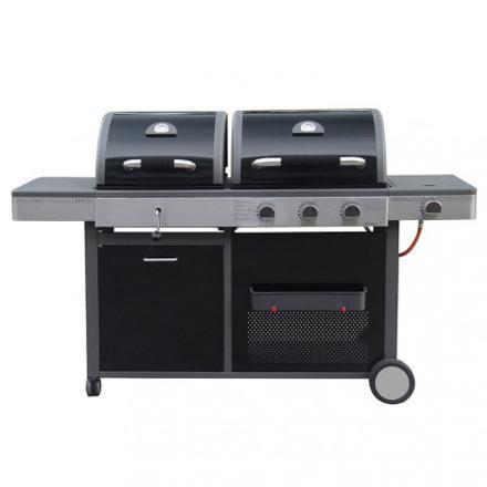 barbecue au gaz ou charbon