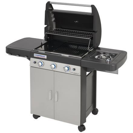barbecue avec plancha au gaz