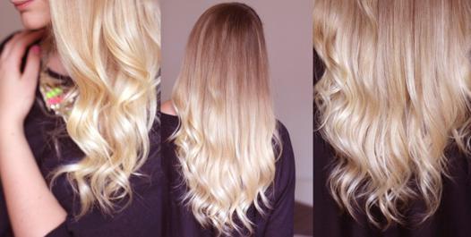 boucler le bas des cheveux