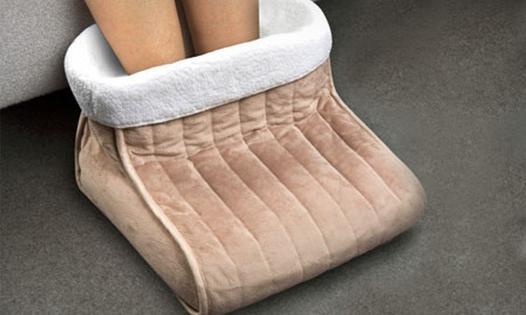 chauffe pieds électrique