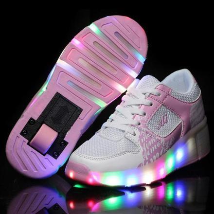 chaussure a roulette pour fille
