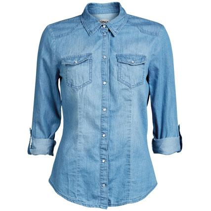 chemise en jean femme swag