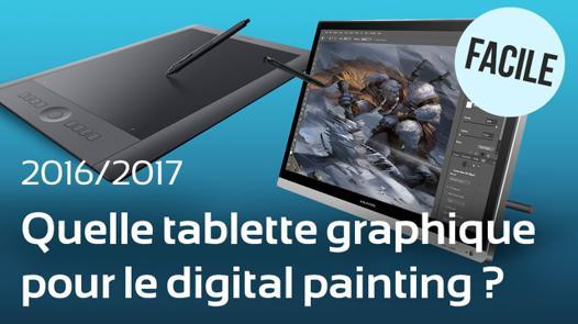 choix tablette graphique