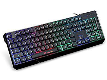 clavier silencieux gamer