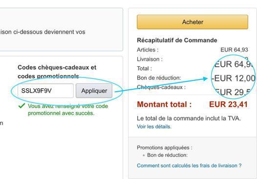 codes reductions amazon