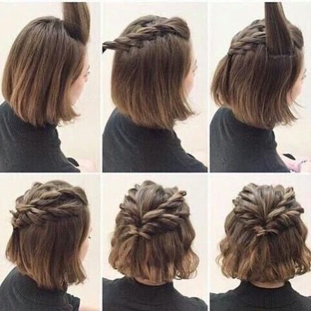 coiffure cheveu court