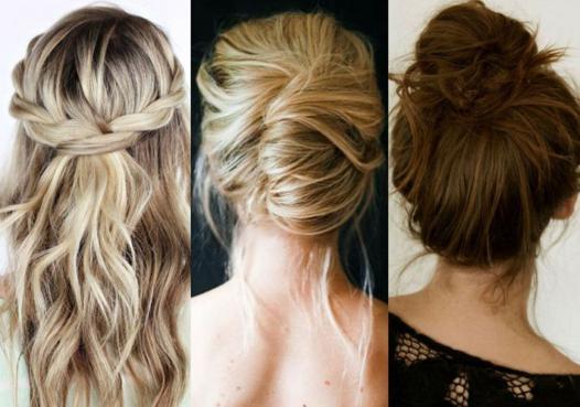 coiffure cheveux simple