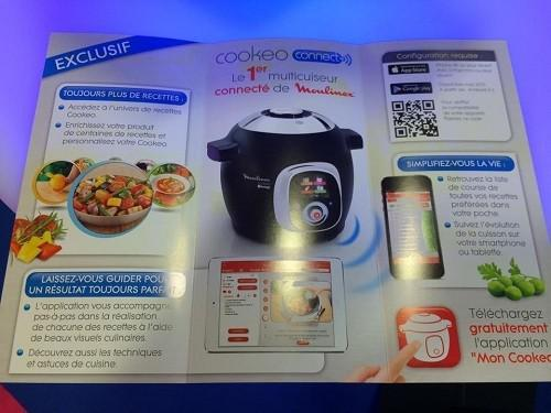 cookeo connect recette