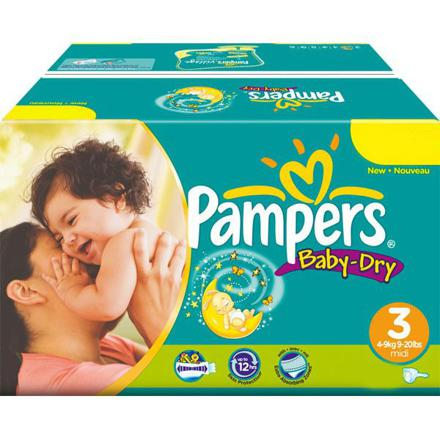 couches pampers 4 pas cher