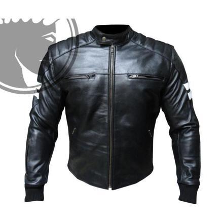 cuir moto homme