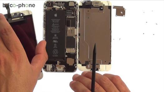 demontage iphone 6