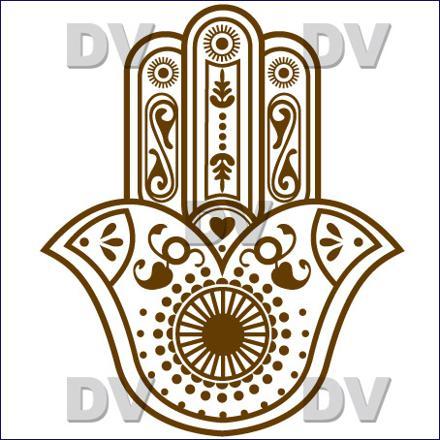 dessin main de fatma