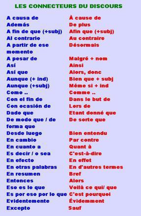 donc en espagnol