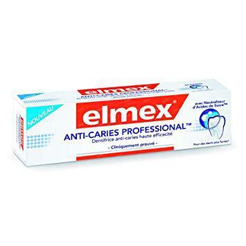 elmex dentifrice