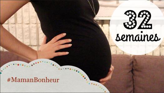 enceinte de 32 semaines de grossesse
