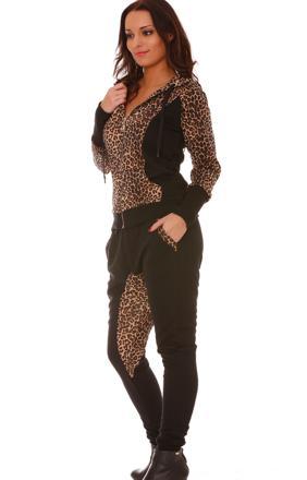ensemble leopard femme