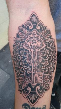 ethno tattoo