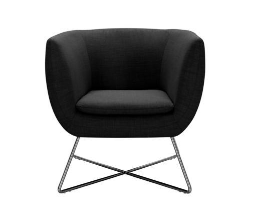 fauteuil noir but