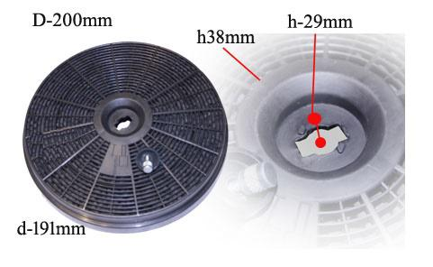 filtre charbon hotte bosch
