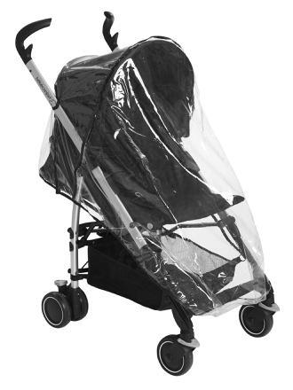habillage pluie poussette bébé confort