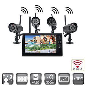kit camera surveillance sans fil exterieur
