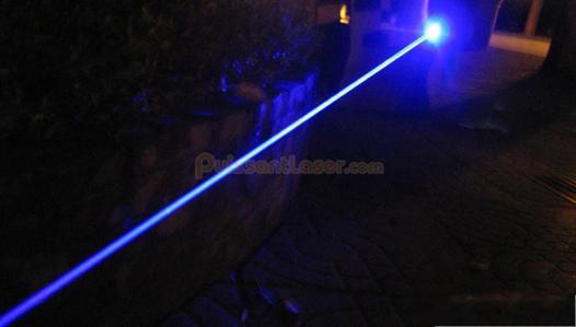 laser bleu