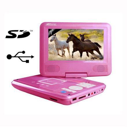 lecteur dvd portable rose pas cher