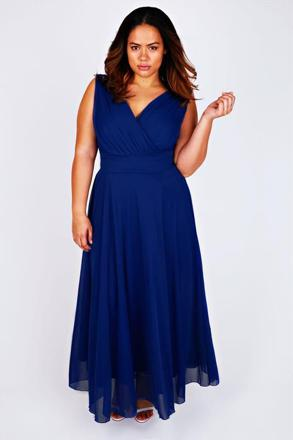 longue robe grande taille