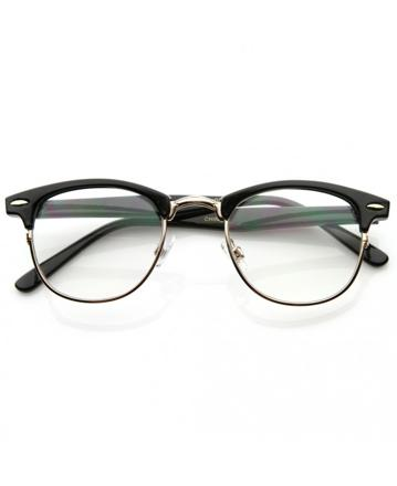 lunettes style clubmaster