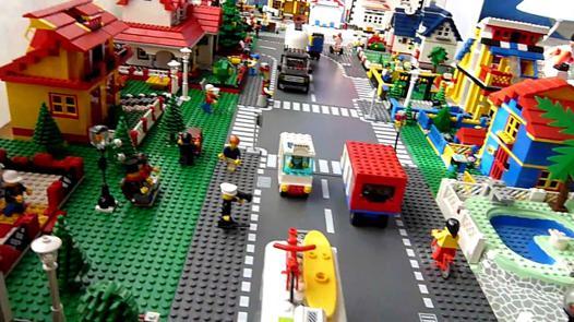 maquette lego city