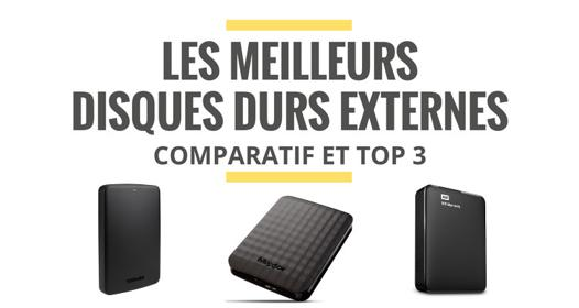 meilleur prix disque dur externe