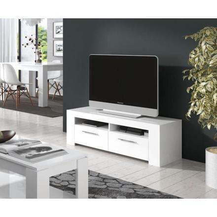 meuble de tv blanc