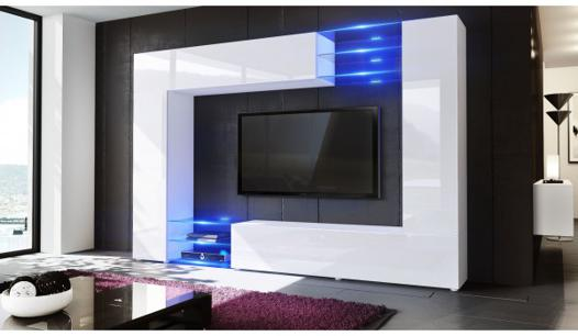 meuble tele mural design