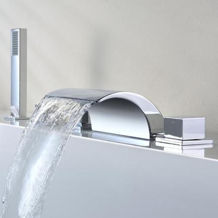 mitigeur baignoire cascade
