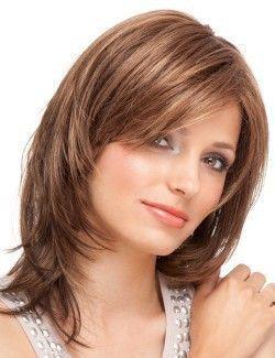 modèle de coiffure cheveux mi-longs