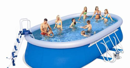 montage piscine bestway ovale