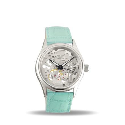 montre bleu turquoise