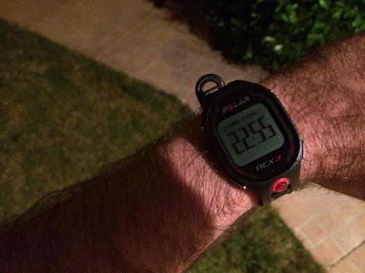 montre cardiofrequencemetre rcx3 noir