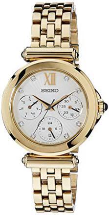 montre seiko femme or
