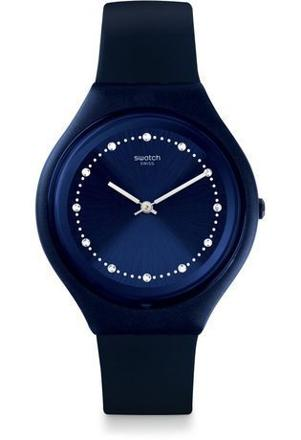 montre swatch bleu marine
