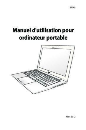 notice pc portable asus