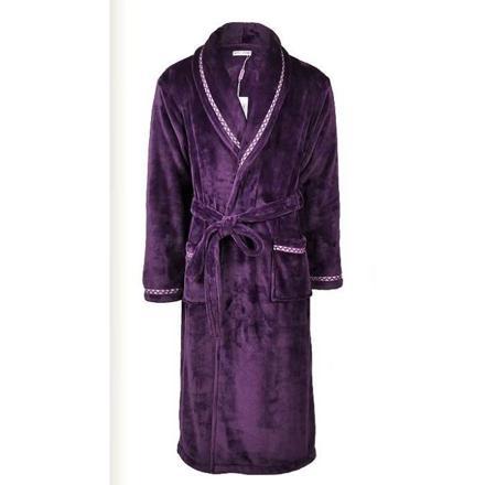 peignoir homme violet