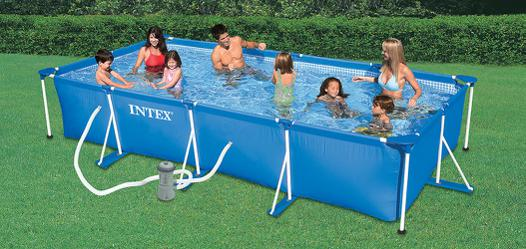piscine hors sol tubulaire intex