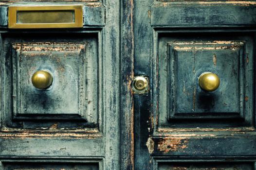 poignée de porte antique